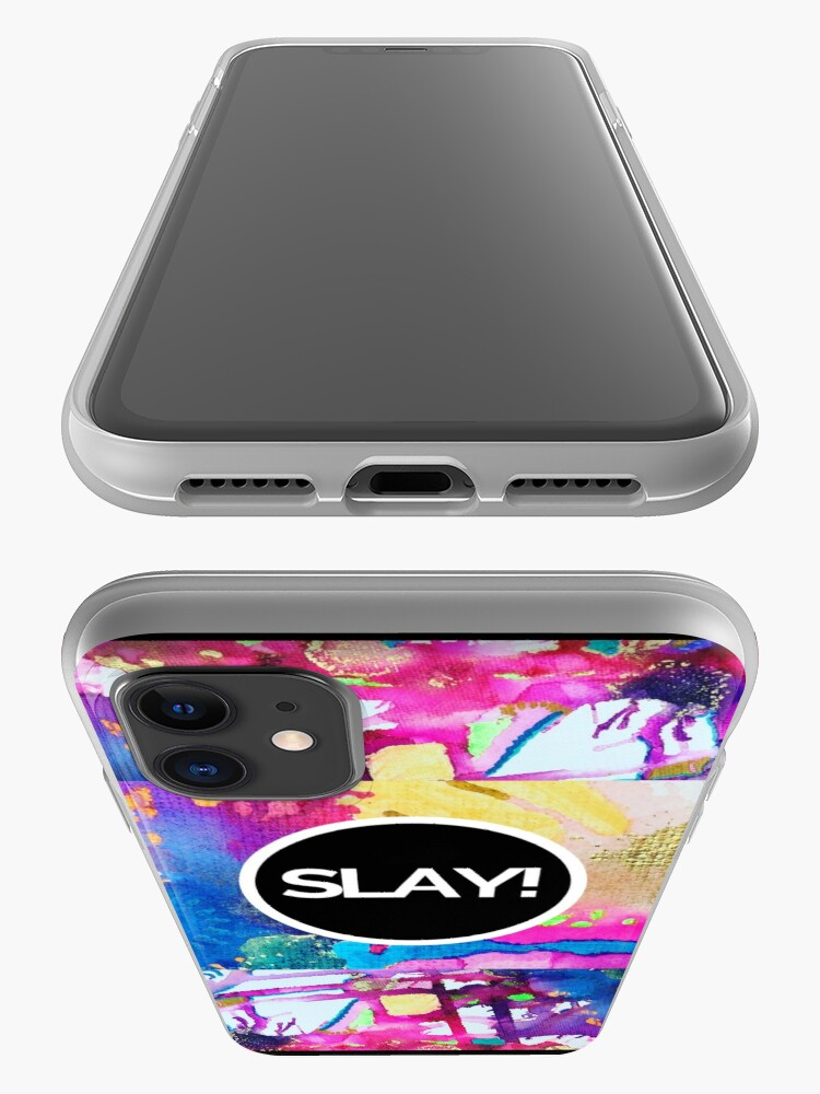Alternate view of SLAY the Day iPhone Case & Cover
