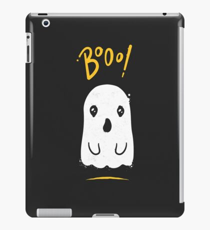 Boo, Cute and Scary Halloween Ghost iPad Case/Skin