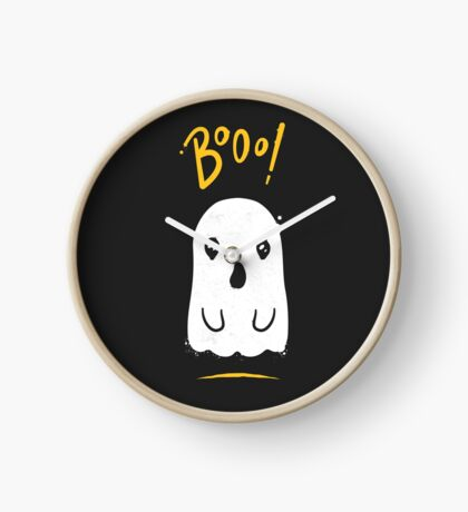 Boo, Cute and Scary Halloween Ghost Clock