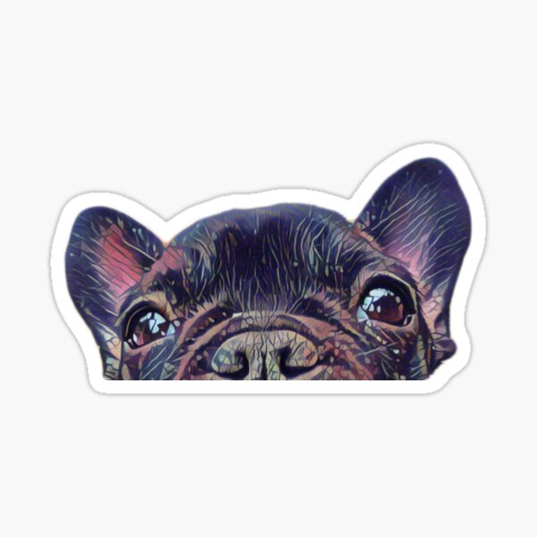 French Bulldog II Sticker