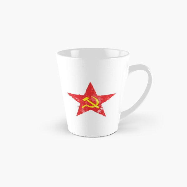 Russian soviet communist WW2 Red Army star emblem Tall Mug
