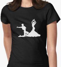 Flamenco Women's Fitted T-Shirt