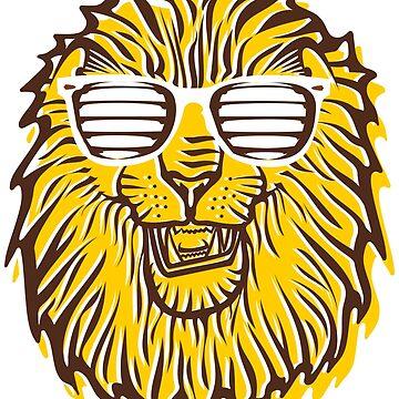 Greensburg Salem Cool Lion Shirt by dutchlovedesign