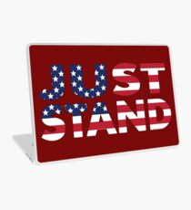 Just Stand for the American Flag and Anthem  Laptop Skin