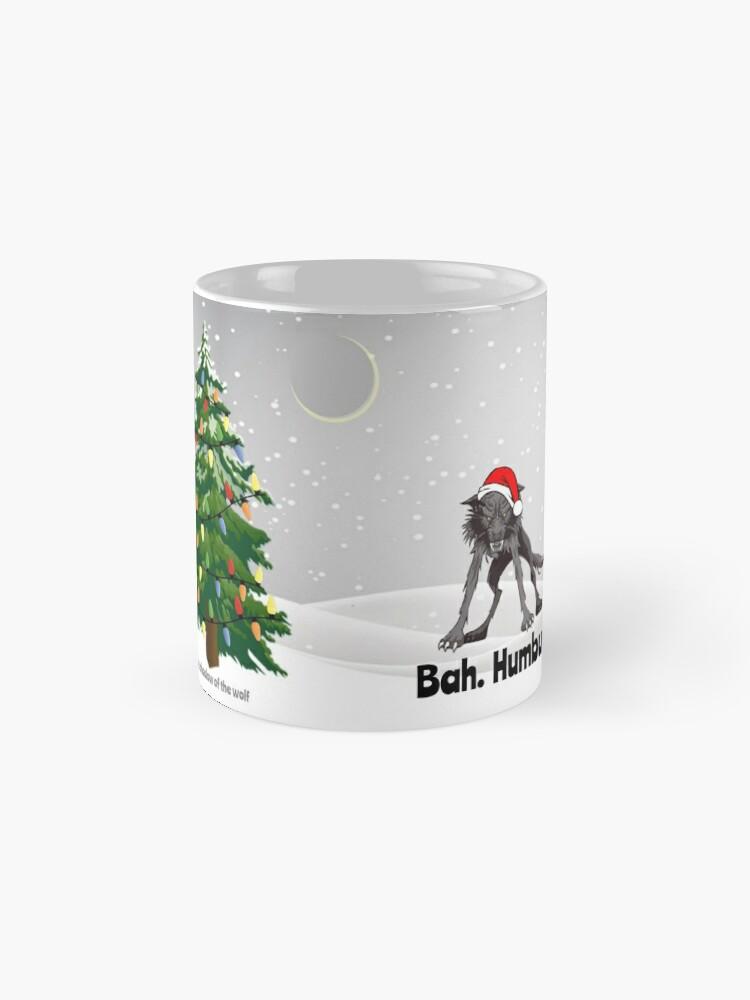 Alternate view of Bah. Humbug. Mug