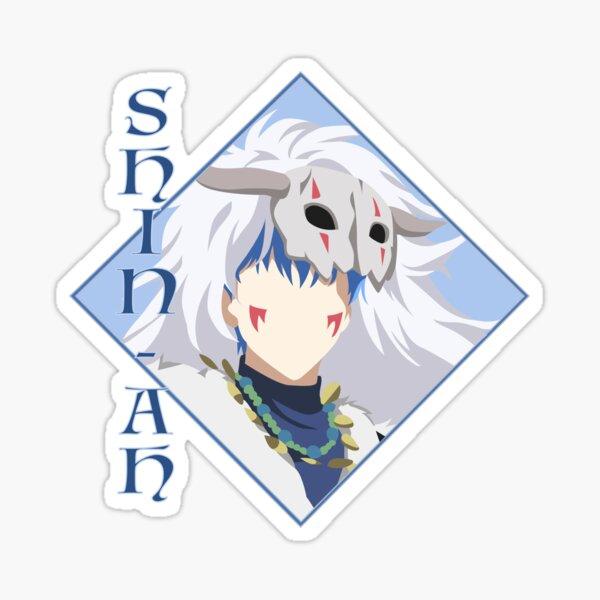 Shin-Ah - Yona of the Dawn Art Sticker