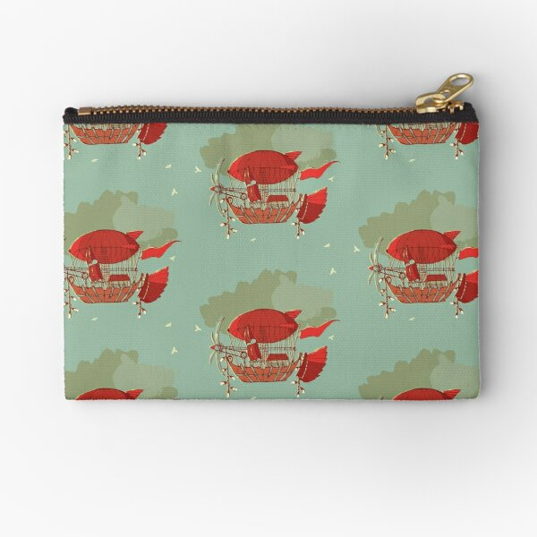 Airship Collection Zipper Pouch
