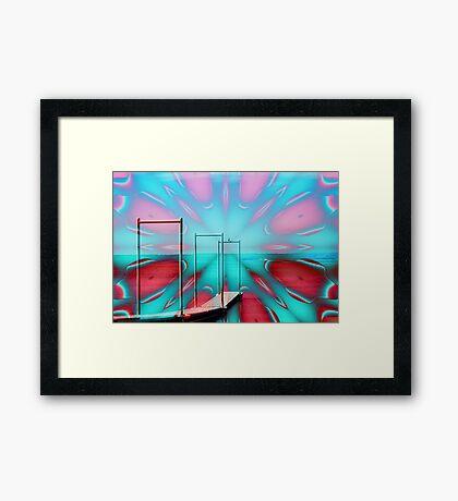 Boat Ramp Framed Print