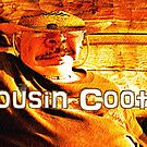 COUSIN COOTER, BOB'S COUSIN FROM BOB'S MOMMA'S SIDE OF THE FAMILY, Photo, greeting cards and postcards by Bob Hall©