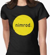 Nimrod-Logo Tailliertes T-Shirt für Frauen