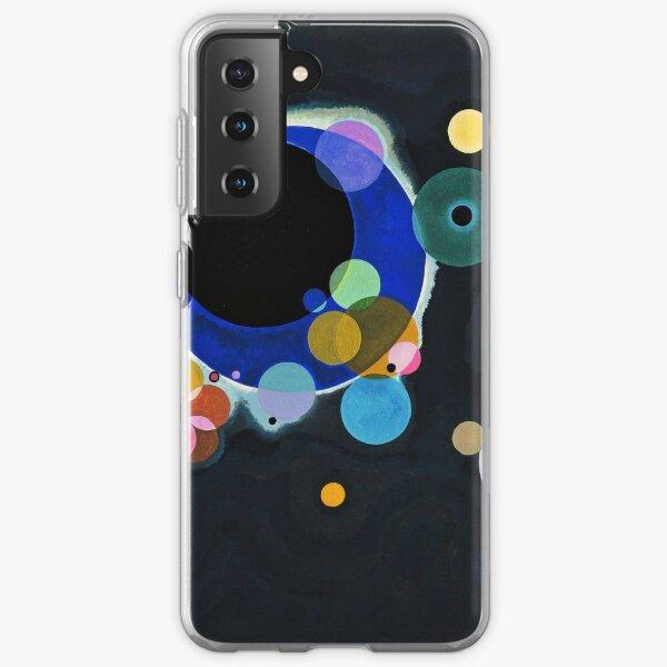 Some circles, Kandinsky Samsung Galaxy Soft Case