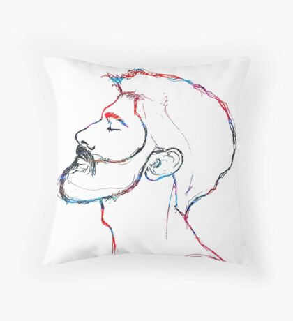 BAANTAL / Hominis / Faces #5 Throw Pillow