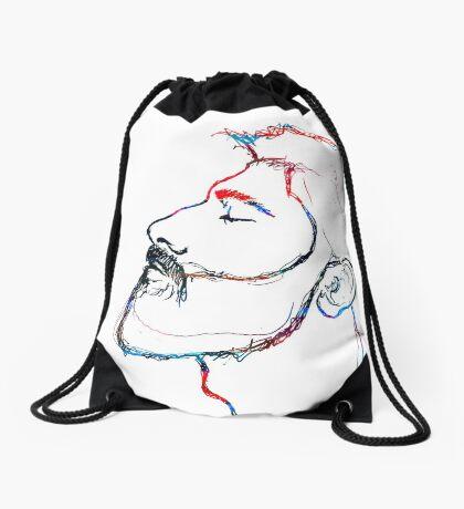 BAANTAL / Hominis / Faces #5 Drawstring Bag