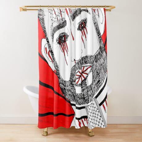 BAANTAL / Hominis / Faces #6 Shower Curtain