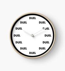 Oh Himmel, schau auf die Zeit Uhr