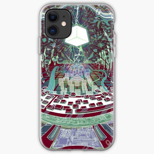 Neuromancer: Wintermute iPhone Soft Case