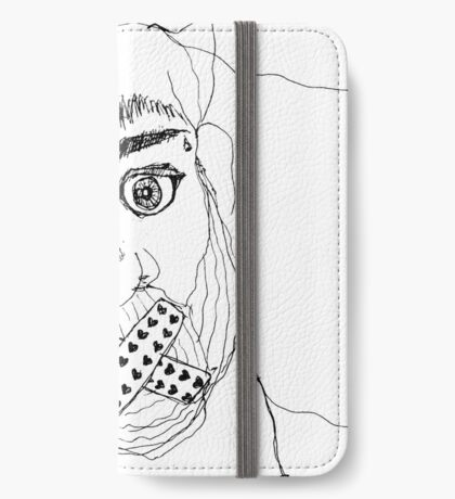 BAANTAL / Hominis / Faces #7 iPhone Wallet