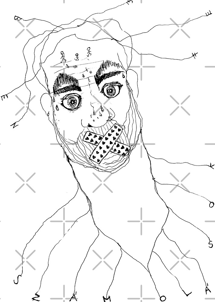 BAANTAL / Hominis / Faces #7 by ManzardCafe