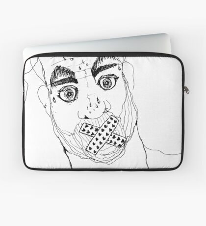 BAANTAL / Hominis / Faces #7 Laptop Sleeve