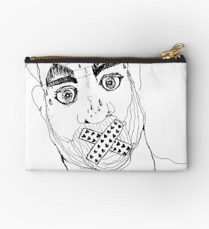 BAANTAL / Hominis / Faces #7 Zipper Pouch