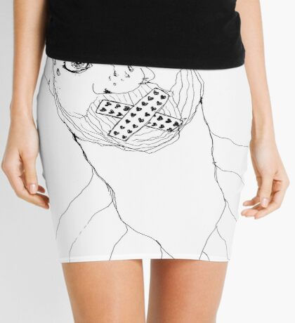 BAANTAL / Hominis / Faces #7 Mini Skirt