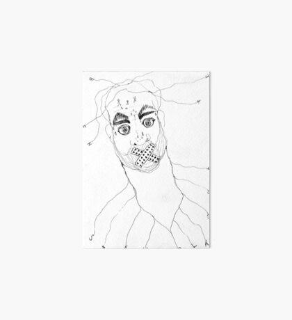 BAANTAL / Hominis / Faces #7 Art Board Print