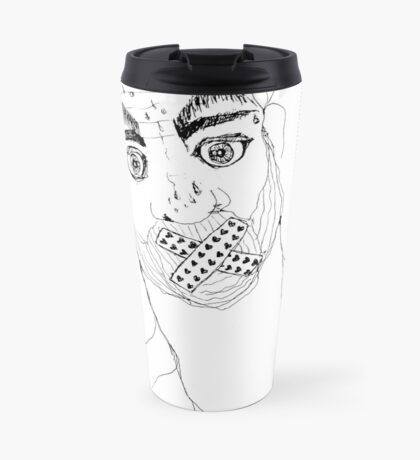 BAANTAL / Hominis / Faces #7 Travel Mug