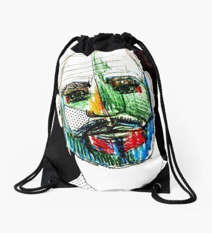 BAANTAL / Hominis / Faces #9 Drawstring Bag