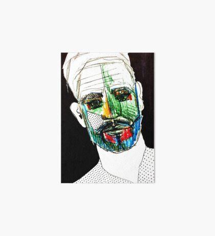 BAANTAL / Hominis / Faces #9 Art Board Print