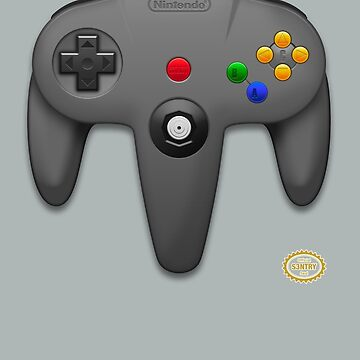 Nintendo 64 by S3NTRYdesigns