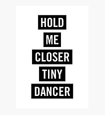 Tiny Dancer Photographic Print