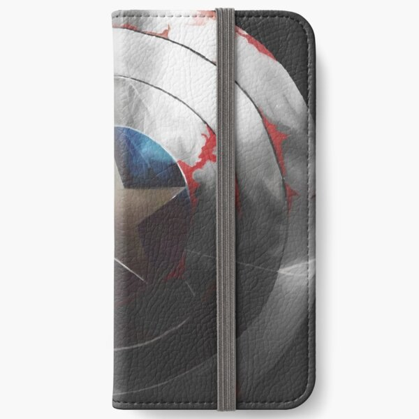 The Shield and the Soldier iPhone Wallet