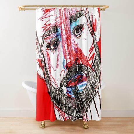 BAANTAL / Hominis / Faces #11 Shower Curtain