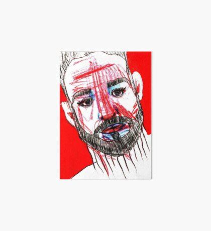 BAANTAL / Hominis / Faces #11 Art Board Print