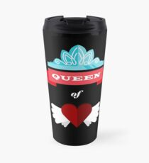 Queen of Hearts Designs Travel Mug
