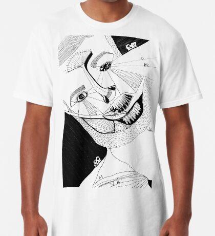BAANTAL / Hominis ! Faces #12 Long T-Shirt
