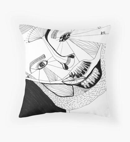 BAANTAL / Hominis ! Faces #12 Floor Pillow