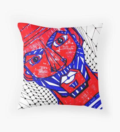 BAANTAL / Hominis / Faces #13 Throw Pillow