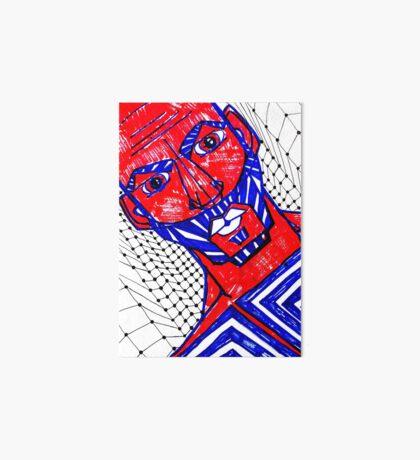 BAANTAL / Hominis / Faces #13 Art Board Print