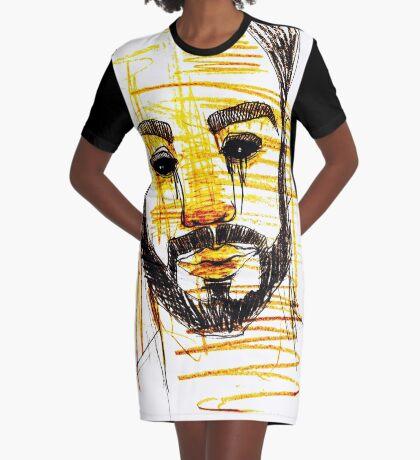 BAANTAL / Hominis / Faces #10 Graphic T-Shirt Dress
