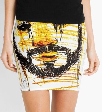 BAANTAL / Hominis / Faces #10 Mini Skirt
