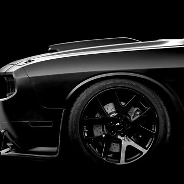 Dodge Challenger - black by mal-photography