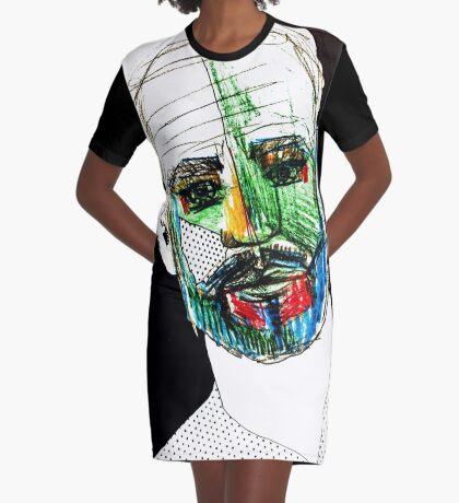 BAANTAL / Hominis / Faces #9 Graphic T-Shirt Dress