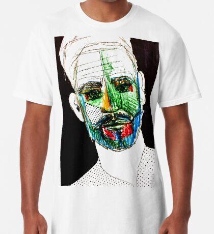 BAANTAL / Hominis / Faces #9 Long T-Shirt