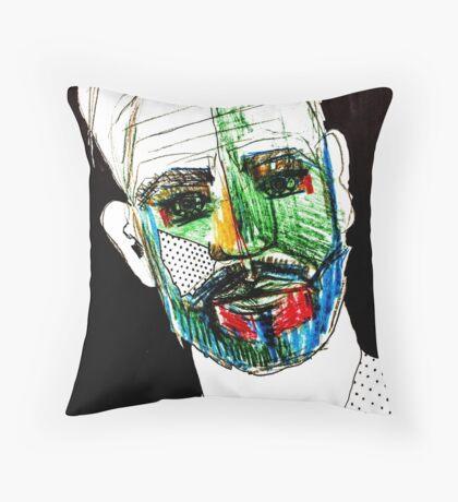 BAANTAL / Hominis / Faces #9 Throw Pillow