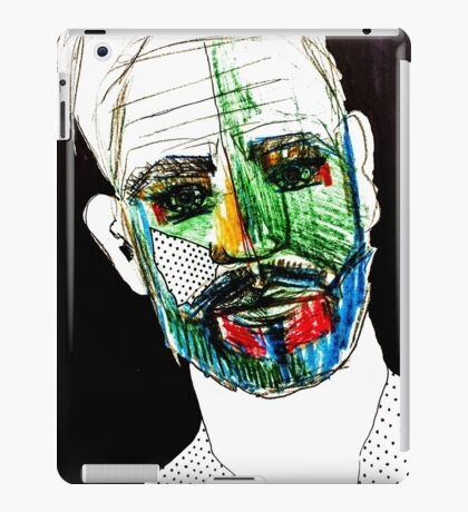 BAANTAL / Hominis / Faces #9 iPad Case/Skin