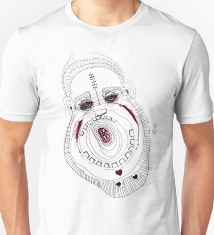 BAANTAL / Hominis / Faces #8 T-Shirt