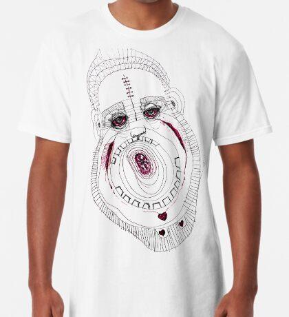 BAANTAL / Hominis / Faces #8 Long T-Shirt