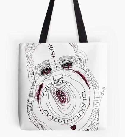 BAANTAL / Hominis / Faces #8 Tote Bag