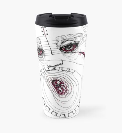 BAANTAL / Hominis / Faces #8 Travel Mug